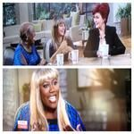 Bald, blonde & beautiful! @sherylunderwood WIGS OUT over @Tyra Banks wig controversy! #everybodytalks