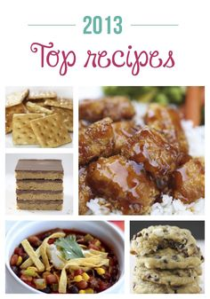 2013 top recipes on iheartnaptime.net
