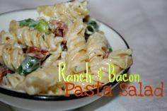 Ranch and Bacon Pasta Salad