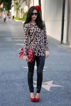 Leopard && Leather