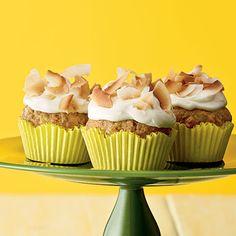 Tropical Banana Cupcakes | MyRecipes.com