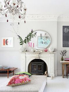 mantel inspiration f