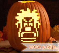 13 Spooktacular Disney Character Jack O'Lanterns: Wreck-It Ralph | Disney Baby