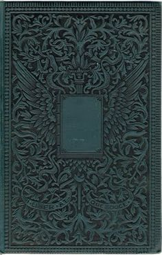 Book Cover Beauty | Just Something I Made (several other old ornate book covers on the page)