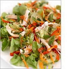 Thai Chicken Salad-This is a WW   4 Plus+ per serving recipe.