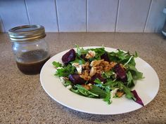 Dill Sistas: Beet Salad with Maple Walnuts and Goat Cheese