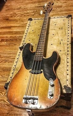 One of Ben Sheperd's basses.
