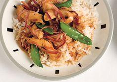 Spicy Orange Chicken Stir-Fry