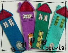 belula: Regala marcapáginas para el día de San Jorge...!!!