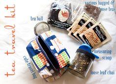 tea travel kit