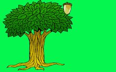 Oak Trees by Melanie Mitchell. Trees are Terrific by Pierre the Acorn.
