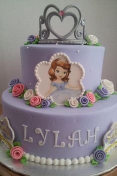 Sofia the First birthday cake!