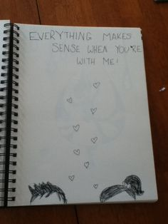 Cute love drawing