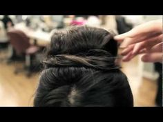 Audrey Hepburn hair tutorial from shopruche.com, posted on youtube.