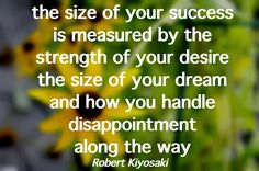 What is your success? //