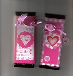 Valentine Candy Wrappers