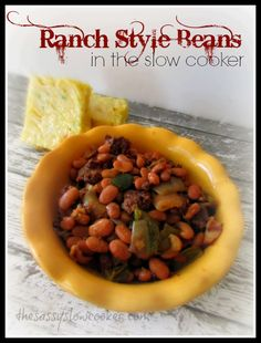 EASY, but tasty ranch style beans recipe!