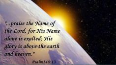 Psalm 148:13