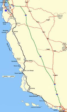 Guide on driving from San Fran to LA