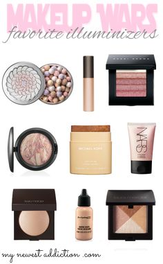 My Newest Addiction Beauty Blog: Makeup Wars: My Favorite Illuminizers