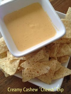 vegan cashew cheese dip  *I'm not vegan but i'm interested in trying this!