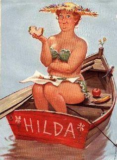 Love Hilda!