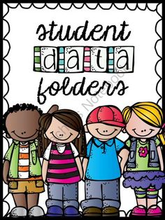 Student Data Folders - Editable! from Briana Beverly on TeachersNotebook.com -  (115 pages)  - These data folders are student-friendly and designed so that students can independently track their own data and set learning goals.