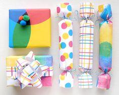 party wrapping, printabl gift, wrap idea, giftwrap, gift wrapping printable
