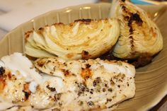 Grilled Cod and Roasted Cabbage Recipe | Lamber Jules