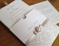 Wedding Invitation For more insipiration visit us at https://facebook.com/theweddingcompanyni or http://www.theweddingcompany.ie