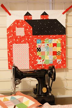 Postage Stamp Barn for the Quilty Barn Along