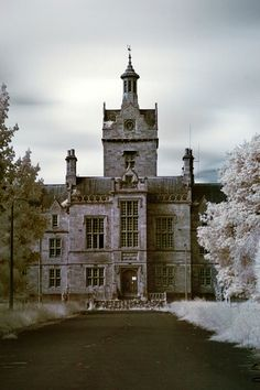 Denbigh Asylum ~ The North Wales Lunatic Asylum was the first psychiatric institution built in Wales; construction began in 1844 and completed in 1848 in the town of Denbigh. It closed roughly 150 years later, and is nowadays slowly falling into grand decay. It is said to be haunted.....