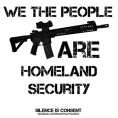 Abolish the DHS. Let, We The People, and the 2nd Amendment take it from here. #libertarian #politics