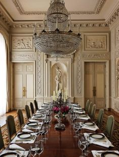 dazzling dining…over the top chandelier-so gorgeous