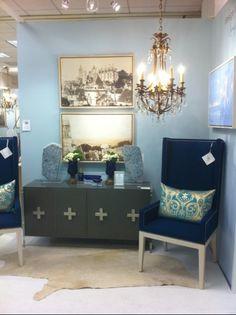 Blue room - Nancy Price Interiors