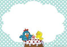 kit festa galinha pintadinha para imprimir grátis convite