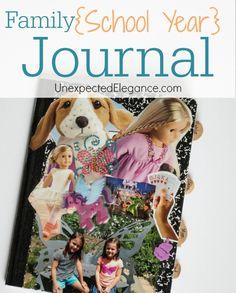 Family School Year Journal