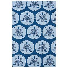 Kaleen Matira MAT06-17 Blue Indoor/Outdoor Rug from @Lamps Plus