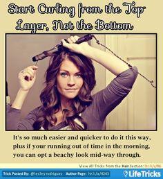 Hair- Hacks, Tricks, Tips on Pinterest | Hair Tie Organizer, Round