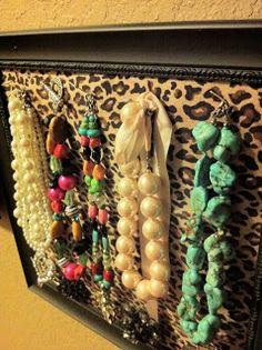 craft, diy jewelry holder, french tulip, christmas presents, jewelry displays, organizers, necklace holder, friend, jewelri organ
