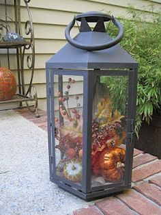 cool fall decor idea