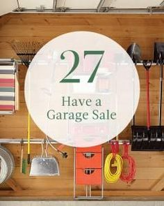 #27 on our summer bucket list: Have a Garage Sale