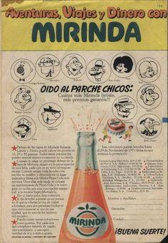 Publicidad de los refrescos Mirinda