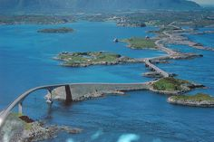 The Atlantic Road in Norway by JarleTondel