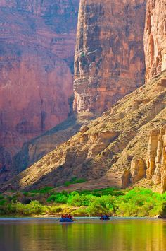 The Colorado River in Marble Canyon, Grand Canyon National Park, Arizona USA