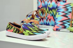 #MMissoni | Printed Canvas ZigZag Accessories | Summer 2014 Collection