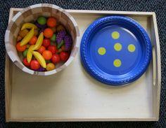 count math, games, children, fruit count, number, dots, count idea, cards, paper plates
