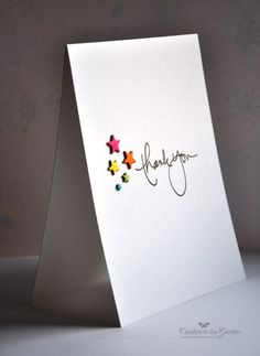 Simon Says Stamp Holiday Shapes die—die-cut the stars five times out of five sheets of different coloured neon paper.