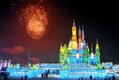 winter, dreams, festivals, china ice, castles