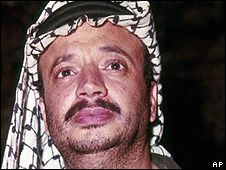 1969: Yasser Arafat becomes head of the PLO